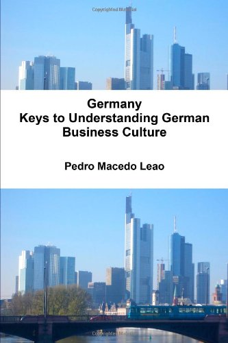 9781447862956: Germany - Keys To Understanding German Business Culture
