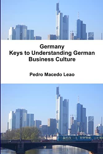 9781447862956: Germany - Keys to Understanding German Business Culture