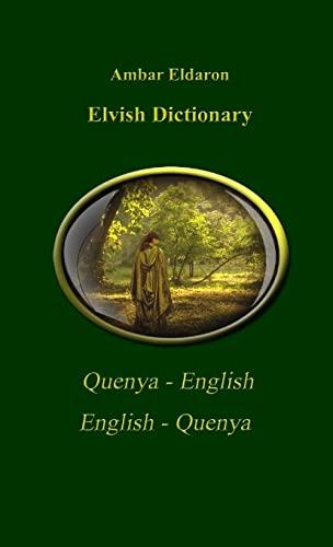 9781447886938: Elvish Dictionary Quenya-English English-Quenya Pocket