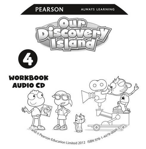 9781447900092: Our Discovery Island American Edition Audio CD for Workbook 4