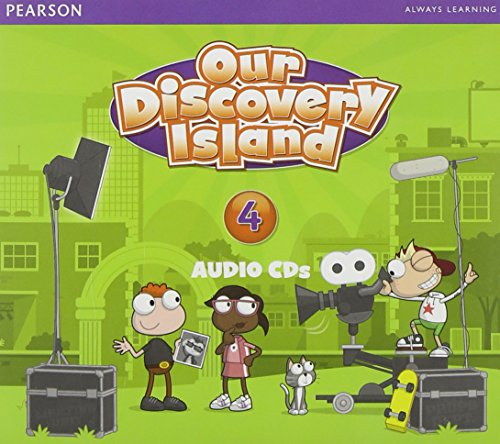 9781447900153: OUR DISCOVERY ISLAND 2013 AUDIO CD LEVEL 4