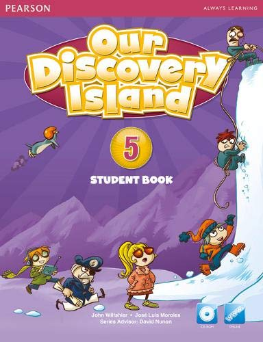 9781447900467: Our Discovery Island American Edition Students Book 5 plus pin code for Pack