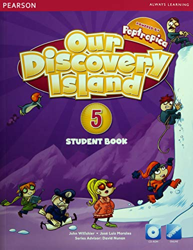 9781447900658: OUR DISCOVERY ISLAND 2013 STUDENT EDITION (CONSUMABLE) WITH CD-ROM LEVEL 5