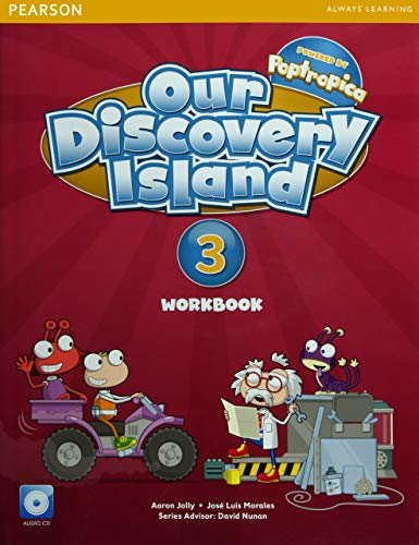 9781447900696: Our Discovery Island American Edition Workbook with Audio CD 3 Pack