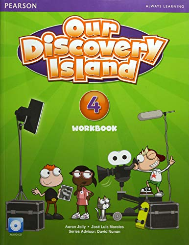 9781447900702: Our Discovery Island American Edition Workbook with Audio CD 4 Pack