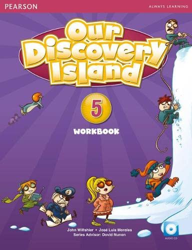 9781447900719: Our Discovery Island American Edition Workbook with Audio CD 6 Pack