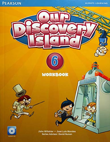 9781447900726: Our Discovery Island American Edition Workbook with Audio CD 6 Pack