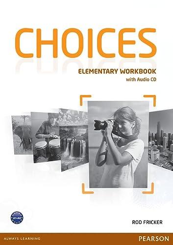 9781447901655: Choices. Elementary Workbook