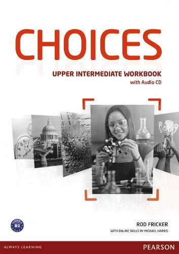 9781447901679: Choices Upper Intermediate Workbook & Audio CD Pack