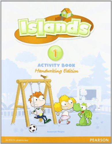 9781447903109: Islands handwriting Level 1 Activity Book plus pin code