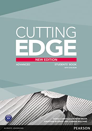9781447906254: Cutting Edge Advanced New Edition Students Book for DVD Pack