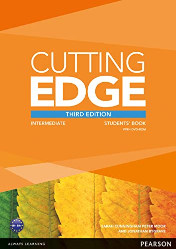 9781447906476: Cutting Edge 3rd Edition Intermediate Students Book for DVD Pack