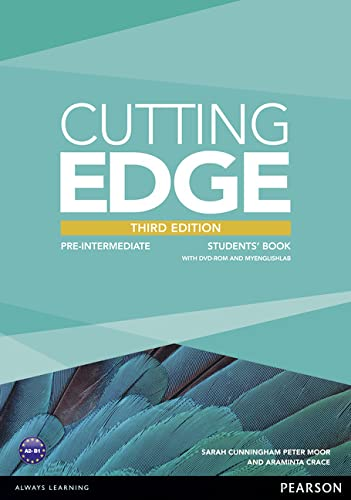 9781447906599: Cutting Edge 3rd Edition Pre-Intermediate Students Book for MyEnglishLab Pack
