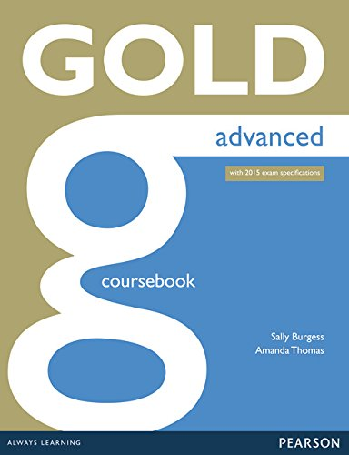 9781447907046: Gld Advanced (2015) Coursebk W/Online Au (Gold)