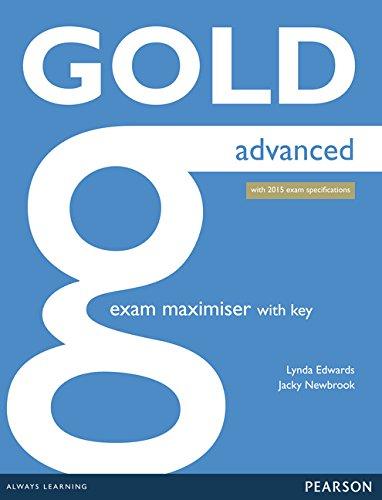 9781447907060: Gold Advanced Maximiser with Key: Advanced