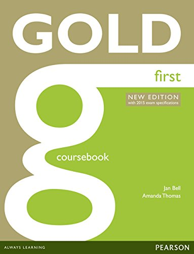 9781447907145: Gold First (2015) Coursebook W/Online Au