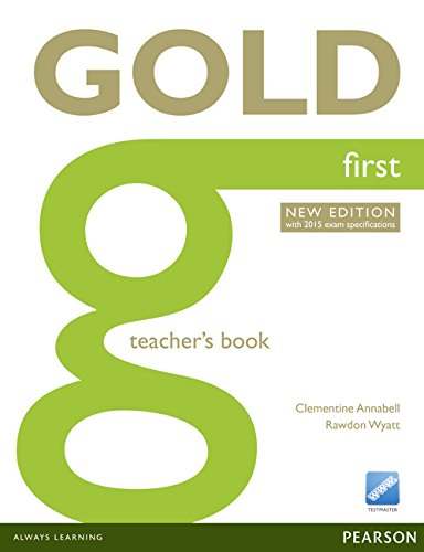 9781447907183: Gold first. Teacher's book. Con expansión online. Para Colegios