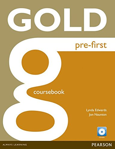 9781447909446: Gold Pre-First Coursebook and CD-ROM Pack