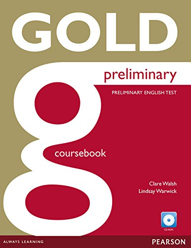 9781447909484: Gold Preliminary Coursebook and CD-ROM Pack