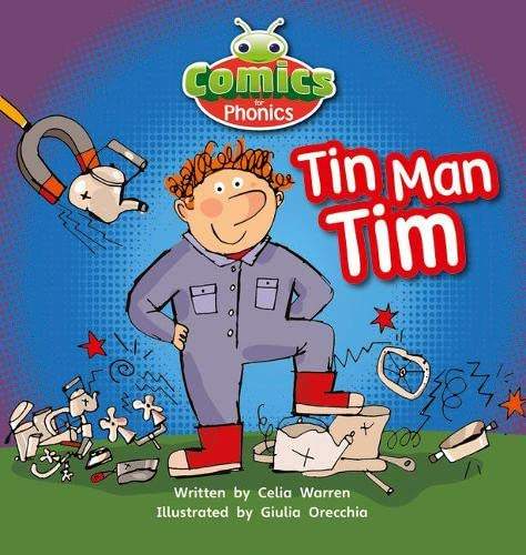 9781447912705: Comics for Phonics: Set 01-02 Pink A: Tin-Man Tim (Bug Club)