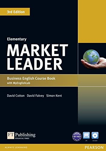 9781447913023: Market Leader 3rd Edition Elementary Coursebook for DVD-ROM and MyEnglishLab Pack