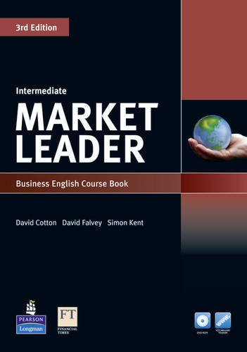 9781447913030: Market Leader Intermediate Coursebook for DVD-ROM and MyLab Pack