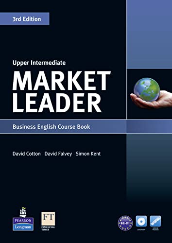 9781447913054: Market Leader 3rd Edition Upper Intermediate Coursebook for DVD-ROM and MyLab Pack