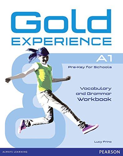 9781447913870: Gold experience. A1. Grammar and vocabulary. Workbook. Con espansione online. Per le Scuole superiori