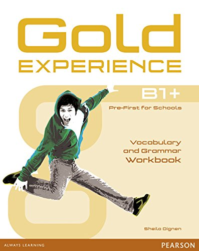 9781447913917: Gold Experience B1+ Workbook without key