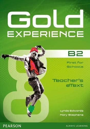9781447919582: Gold Experience B2 eText Teacher CD-ROM
