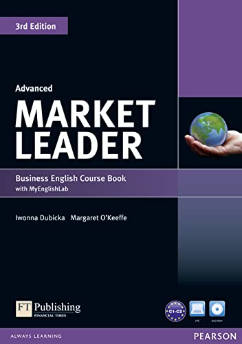 9781447922254: Market Leader Advanced Coursebook with DVD-ROM and Myenglishlab Access Code Pack