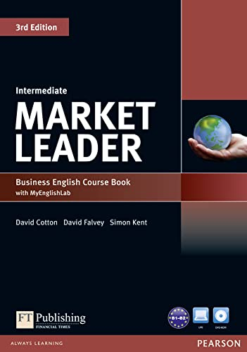 9781447922278: Market Leader 3rd Edition Intermediate Coursebook with DVD-ROM and MyLab Access Code Pack