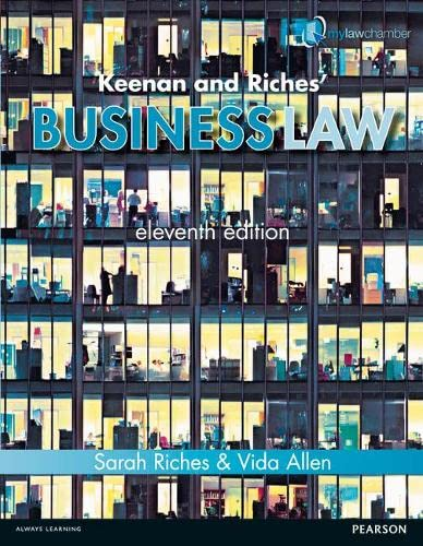 9781447923008: Keenan & Riches' Business Law Premium Pack