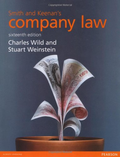 9781447923107: Smith and Keenan's Company Law
