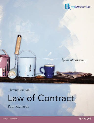 9781447923152: Law of Contract (Foundation Studies in Law Series)