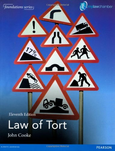 9781447923534: Law of Tort (Foundations) Premium Pack (Foundation Studies in Law Series)