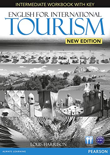 9781447923855: English for International Tourism Intermediate New Edition Workbook with Key and Audio CD Pack (English for Tourism)