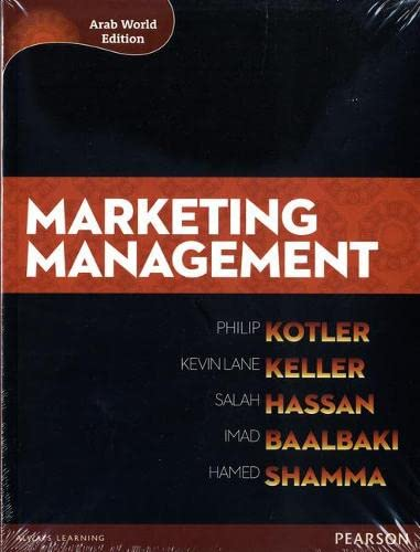 Marketing Management (Arab World Editions) with MyMarketingLab: Philip Kotler, Kevin