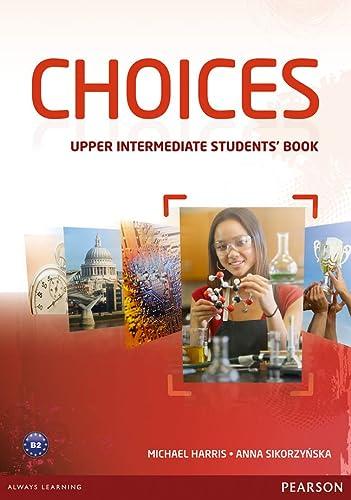 9781447928829: Choices. Upper intermediate. Student's book-MyEnglishLab. Con espansione online. Per le Scuole superiori
