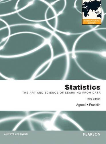 9781447928935: Statistics:The Art and Science of Learning from Data: International Edition / MyMathLab -- Valuepack Access Card