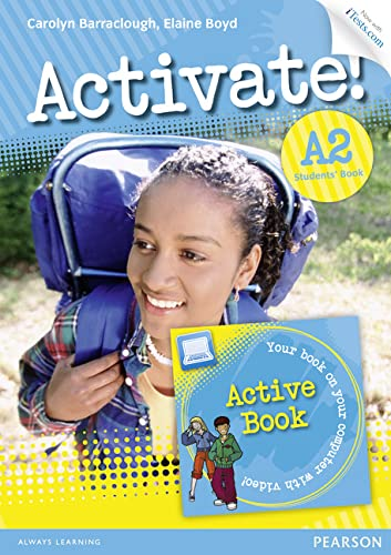 9781447929260: Activate! A2 Students' Book with Access Code and Active Book Pack