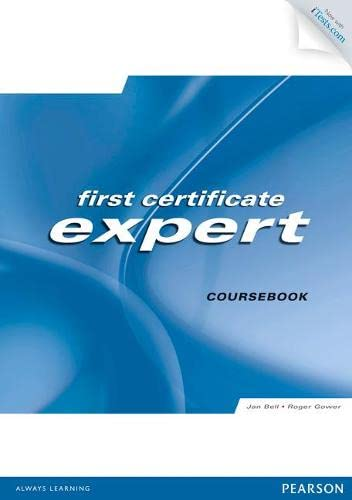 FCE Expert Students' Book with Access Code: Bell, Jan, Gower,