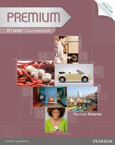 9781447929321: Premium B1 Coursebook with Exam Reviser, Access Code and iTests CD-ROM Pack