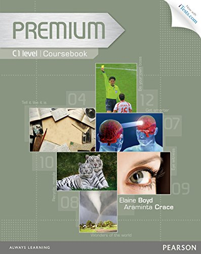 9781447929338: Premium C1 Coursebook with Exam Reviser, Access Code and iTests CD-ROM Pack