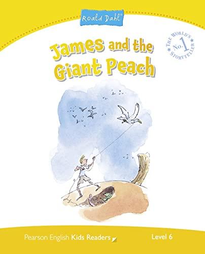 9781447931379: Penguin kids 6. James and the giant peach. Per le Scuole superiori. Con espansione online (Pearson English Kids Readers)