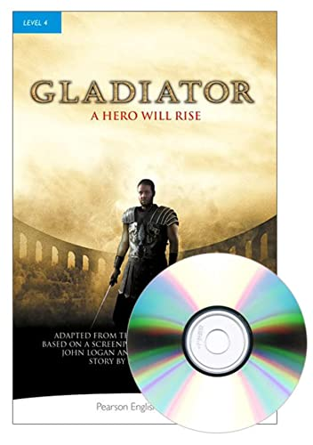 9781447934912: Penguin Readers 4: Gladiator Book & MP3 Pack (Pearson English Graded Readers)