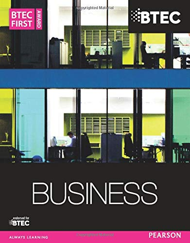 9781447935568: BTEC First Business Award Student Book