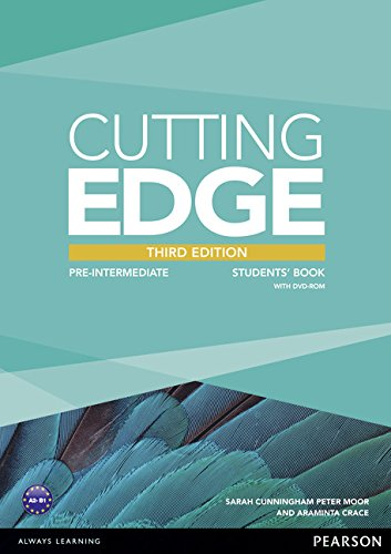 9781447936909: Cutting Edge 3rd Edition Pre-Intermediate Students' Book and DVD Pack