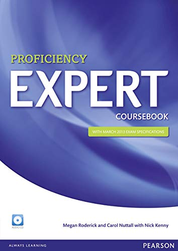 9781447937593: Proficiency Expert Coursebook + CD [Lingua inglese]