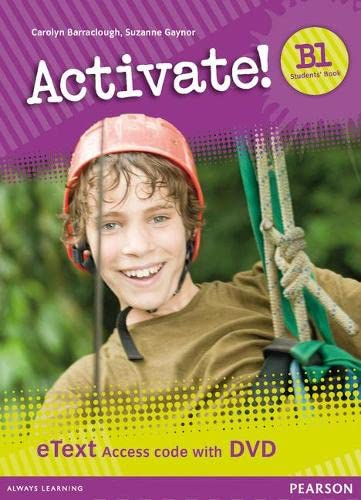 9781447941750: Activate! B1 Students' Book eText Access Card with DVD